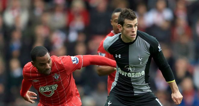 Gareth Bale: Opened scoring for Tottenham in their 2-1 victory against Southampton