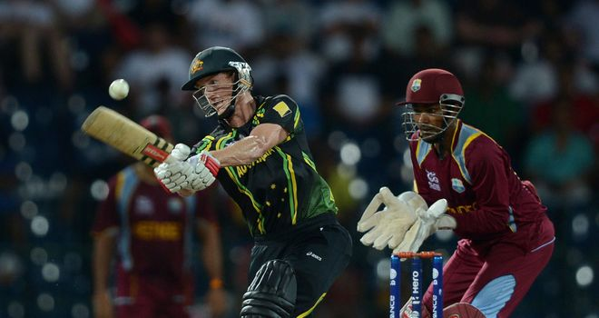 George Bailey: Admitted his side were outplayed by West Indies
