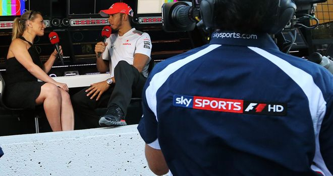 Lewis Hamilton was at the centre of many of the year's main stories