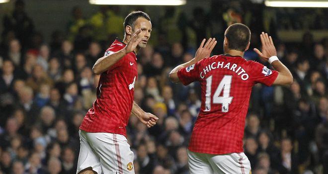 Ryan Giggs: Scored twice in 5-4 defeat at Stamford Bridge