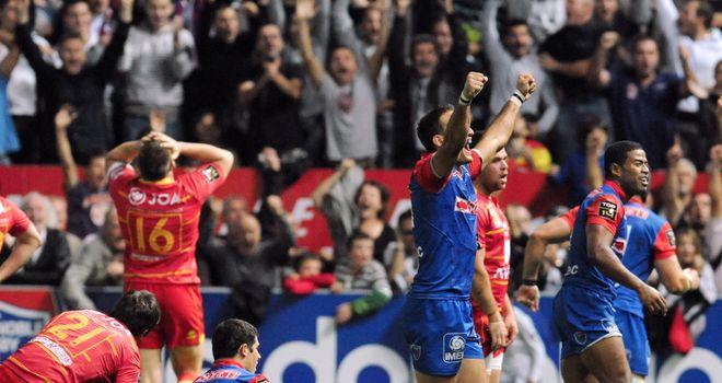 Grenoble saw off Perpignan 28-23