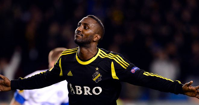 Henok Goitom: Helped AIK Solna past Linfield
