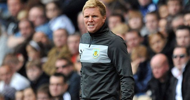 Eddie Howe: Admits it was a tough decision leaving Burnley