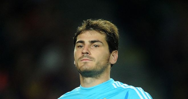 Iker Casillas: Faces up to three months out