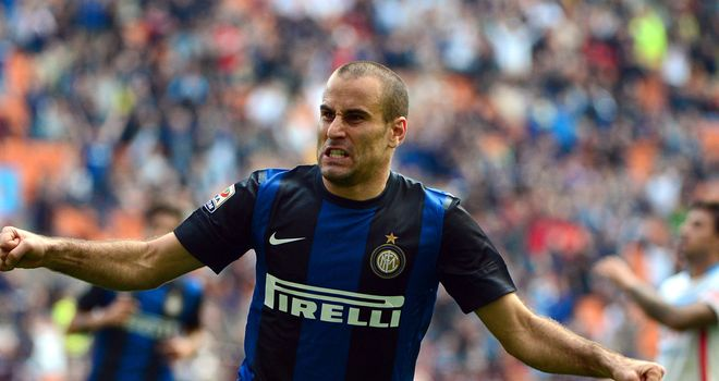 Rodrigo Palacio: Had a stint in goal for Inter