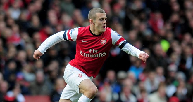 Jack Wilshere: Has played only three first-team games in more than a year