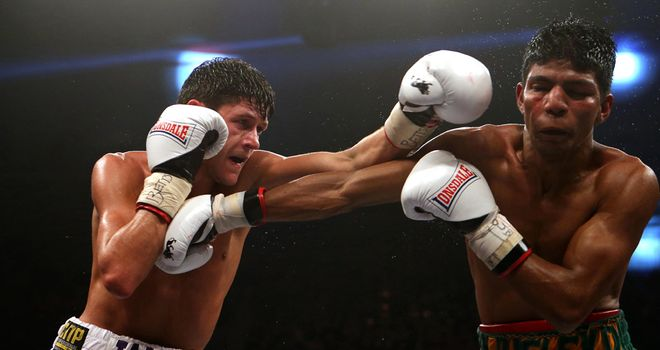 Jamie McDonnell (left): handed world title shot