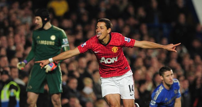 Javier Hernandez: Manchester United striker scored a controversial winner at Chelsea