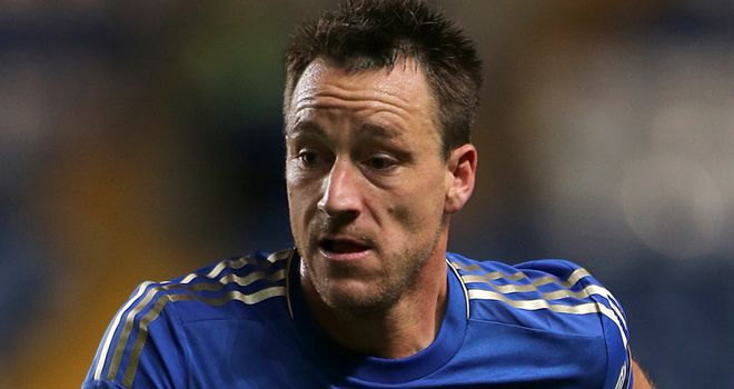 John Terry: Set to lead Chelsea out on Tuesday