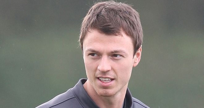 Jonny Evans: Looks set to be fit for Manchester united's trip to CFR Cluj