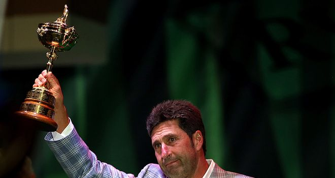 Olazabal: praised by Montgomerie