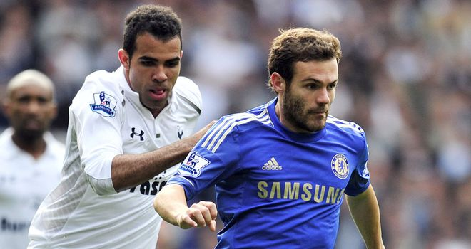 Mata: at the heart of things for Chelsea