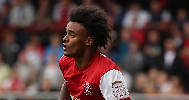Brown: Scored for Fleetwood