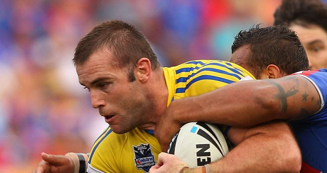 Former Parramatta forward Justin Poore dismissed on debut
