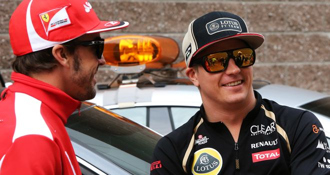 Kimi Raikkonen: Says title fight is still on