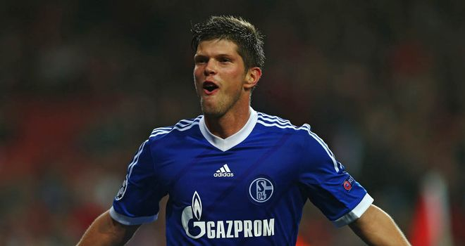 Klaas-Jan Huntelaar: Signed a new deal at Schalke until 2015