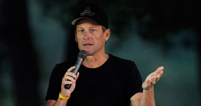 Armstrong: Stripped of seven Tour de France titles