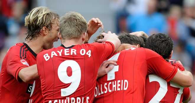 Leverkusen scored late to snatch a point