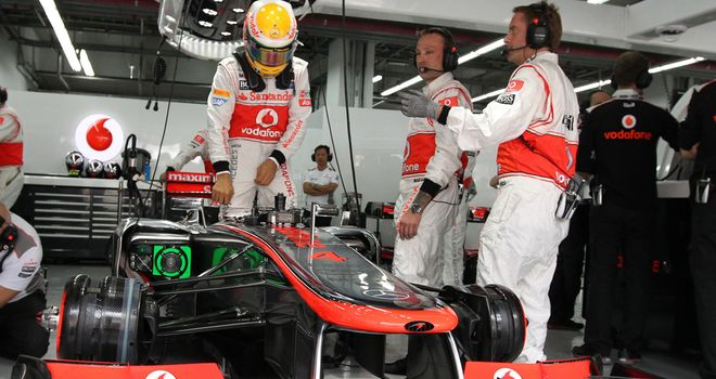 McLaren: In need of a strong result after disappointments in the Far East