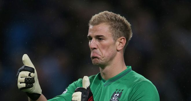 Joe Hart: Produced a superb performance against Lewandowski's Dortmund in the Champions League