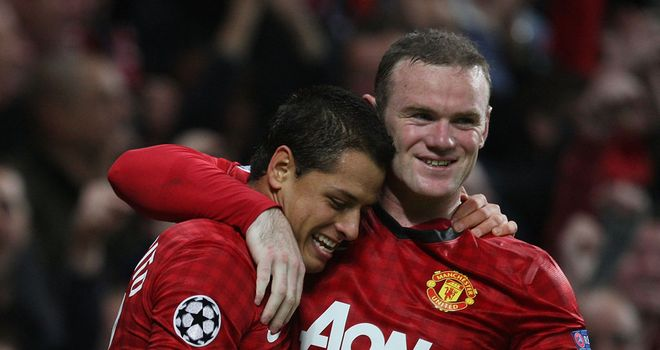 Wayne Rooney: Happy to play a different role and let Javier Hernandez and Robin van Persie score the goals