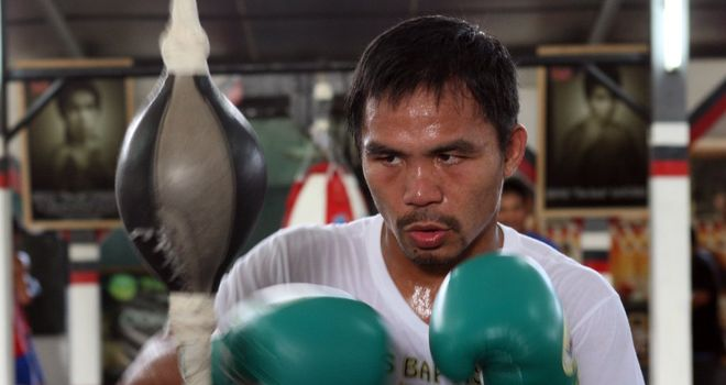 Manny Pacquiao remains determined to face Floyd Mayweather