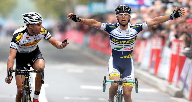 Marco Marcato: Went one better than his 2011 result with a win at Paris-Tours