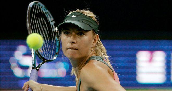 Maria Sharapova: Through to the last 16 of the China Open after beating Sorana Cirstea