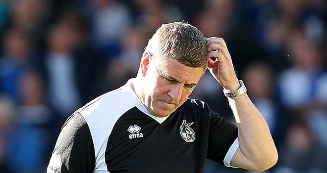 McGhee: Fuming at red cards
