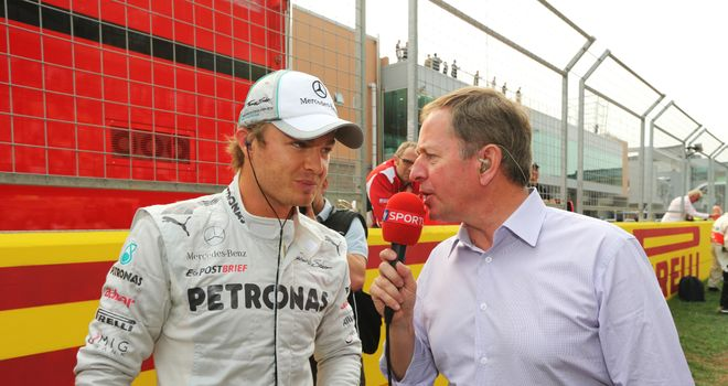 Nico Rosberg: Says some drivers need to calm down