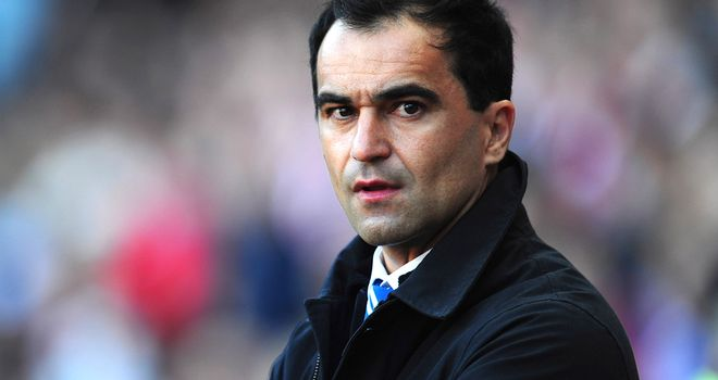 Roberto Martinez: Looking forward to playing at home