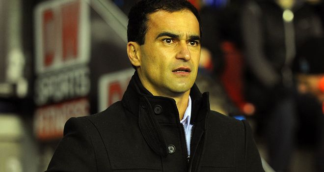 Roberto Martinez: Setting sights on top 10 finish