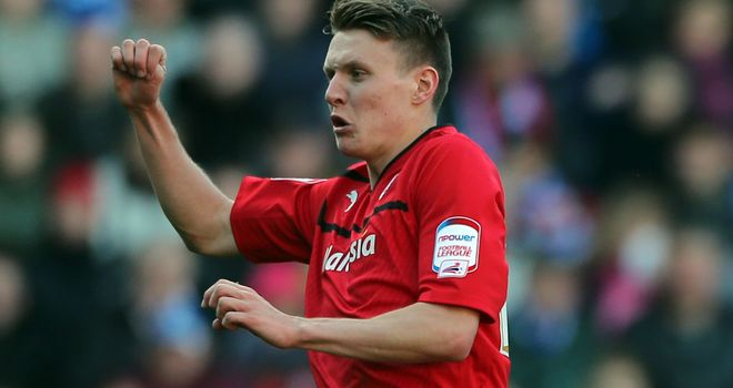 Joe Mason: Opened the scoring for Cardiff on three minutes