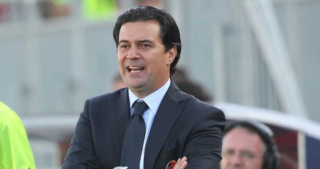 Massimo Ficcadenti: Replaced as Cagliari coach after poor run of results