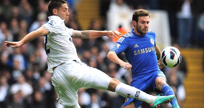 Juan Mata was the star of the show for Chelsea against Tottenham
