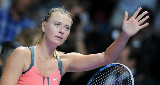 Maria Sharapova: Three wins from three in Istanbul