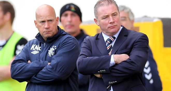 Ally McCoist: Rangers manager determined to win first away game on Sunday