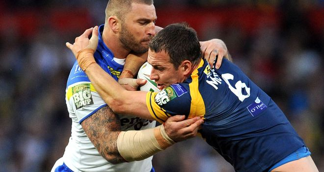 Danny McGuire: Insists Leeds wanted to finish at high up the Super League table as possible