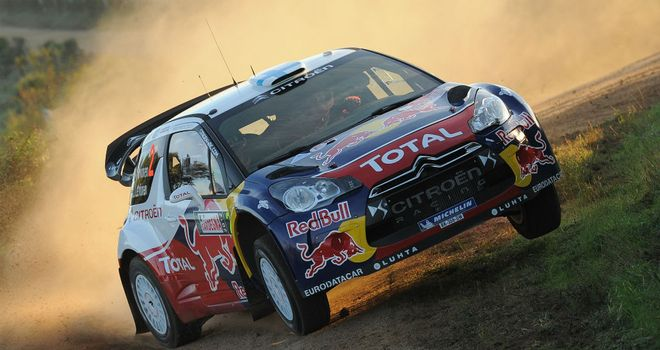 Mikko Hirvonen: First Citroen win