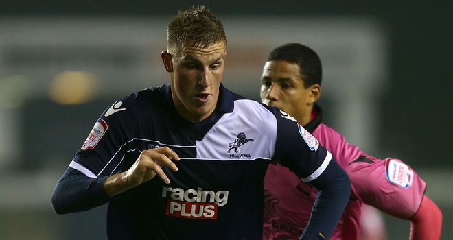 Chris Wood: On loan at Millwall from West Brom