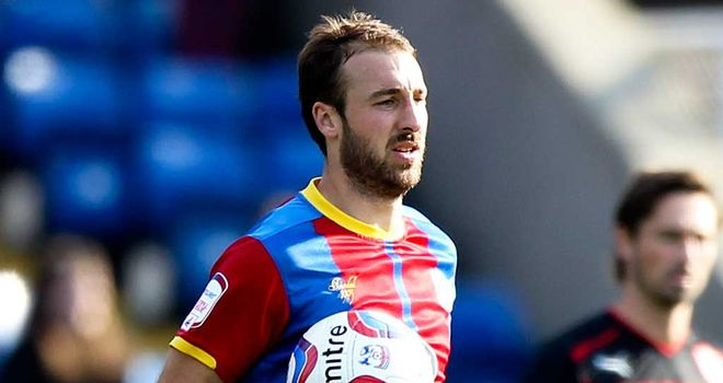 Glenn Murray: Scored a hat-trick as Crystal Palace moved top of the Championship