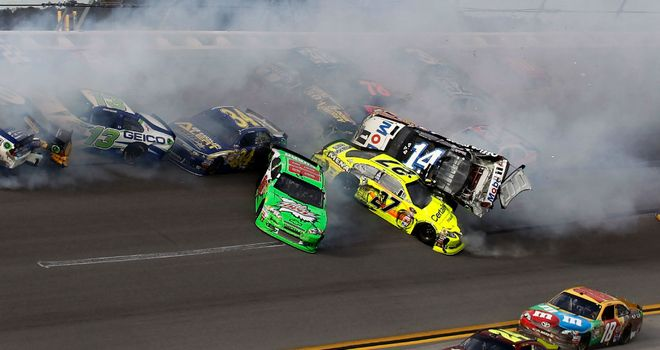 Tony Stewart (No. 14): Caused late pile-up as he crashed out of the lead