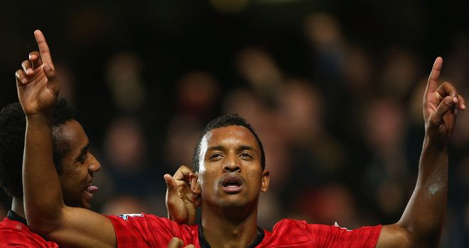Nani: Unhurt after a car crash with an unmarked police car near Manchester