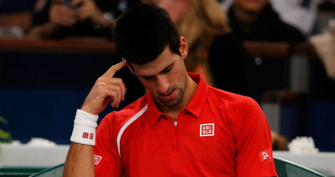 Novak Djokovic: Feeling the effects of another long season