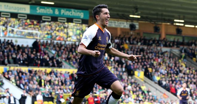 Nuri Sahin: The Liverpool midfielder has scored three goals in the past two matches