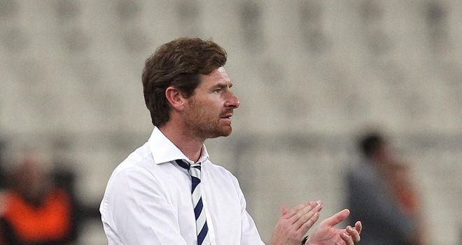 Andre Villas Boas: Tottenham manager refusing to panic