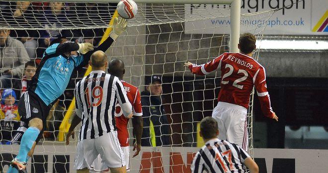 Parkin: Scored St Mirren's first goal at Pittodrie