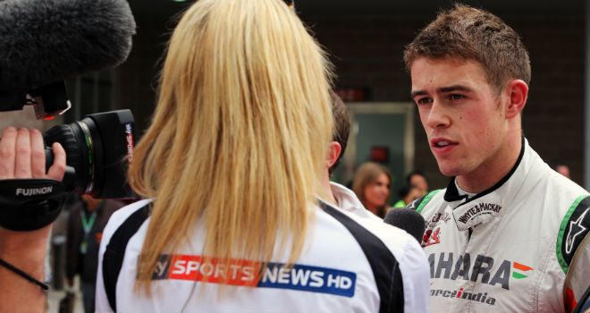 Paul Di Resta: Still does not know who his team-mate will be at Force India