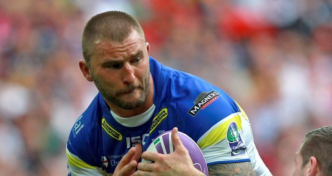 Paul Wood: could play for Swinton Lions on Sunday in the Championship