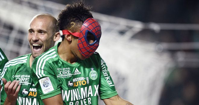 Pierre-Emerick Aubameyang: Could join Jonas Gutierrez in wearing a Spiderman mask at Newcastle